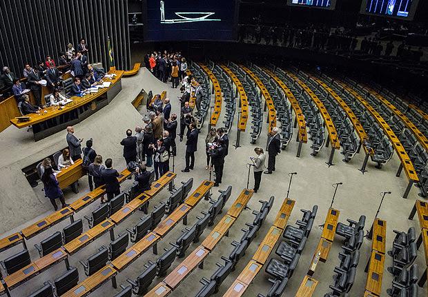 BRASILIA, DF, BRASIL, 29-06-2017, 14h00: O Presidente da Camara dos Deputados, Rodrigo Maia, durante a leitura da denuncia da PGR contra o Presidente Michel Temer, na Camara dos Deputados, em Brasilia. (Foto: Eduardo Anizelli/Folhapress, PODER)
