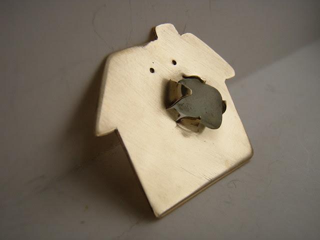 little house brooch