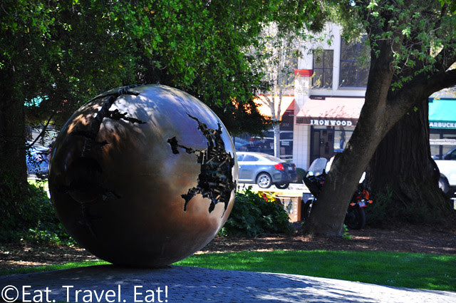 UC Berkeley, Berkeley, CA- Globe Sculpture