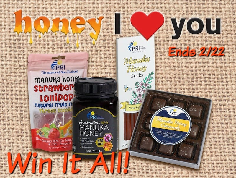 Manuka Honey chocolates