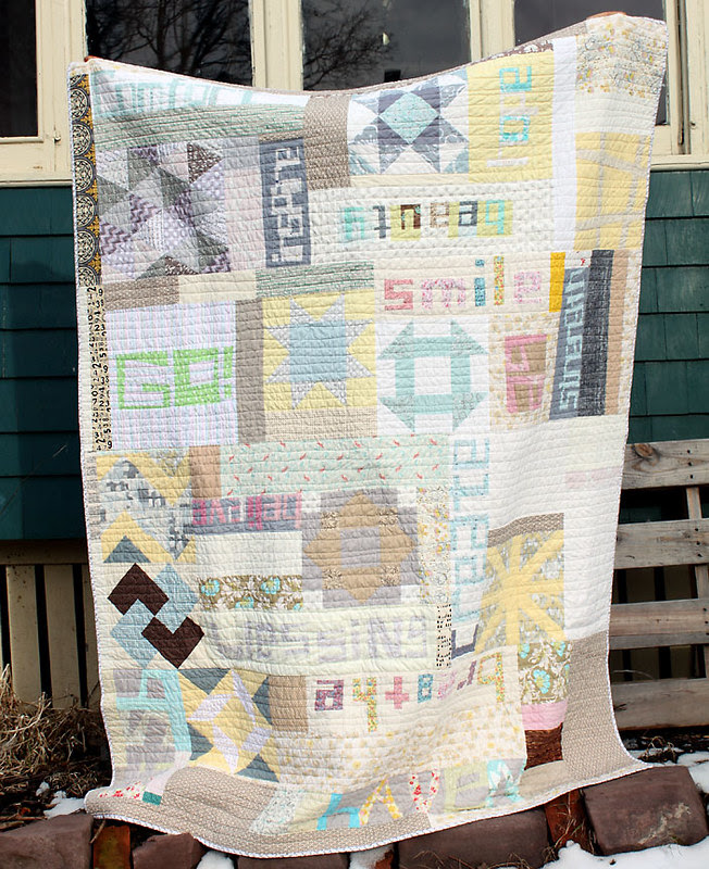 do. good stitches HAVEN quilt