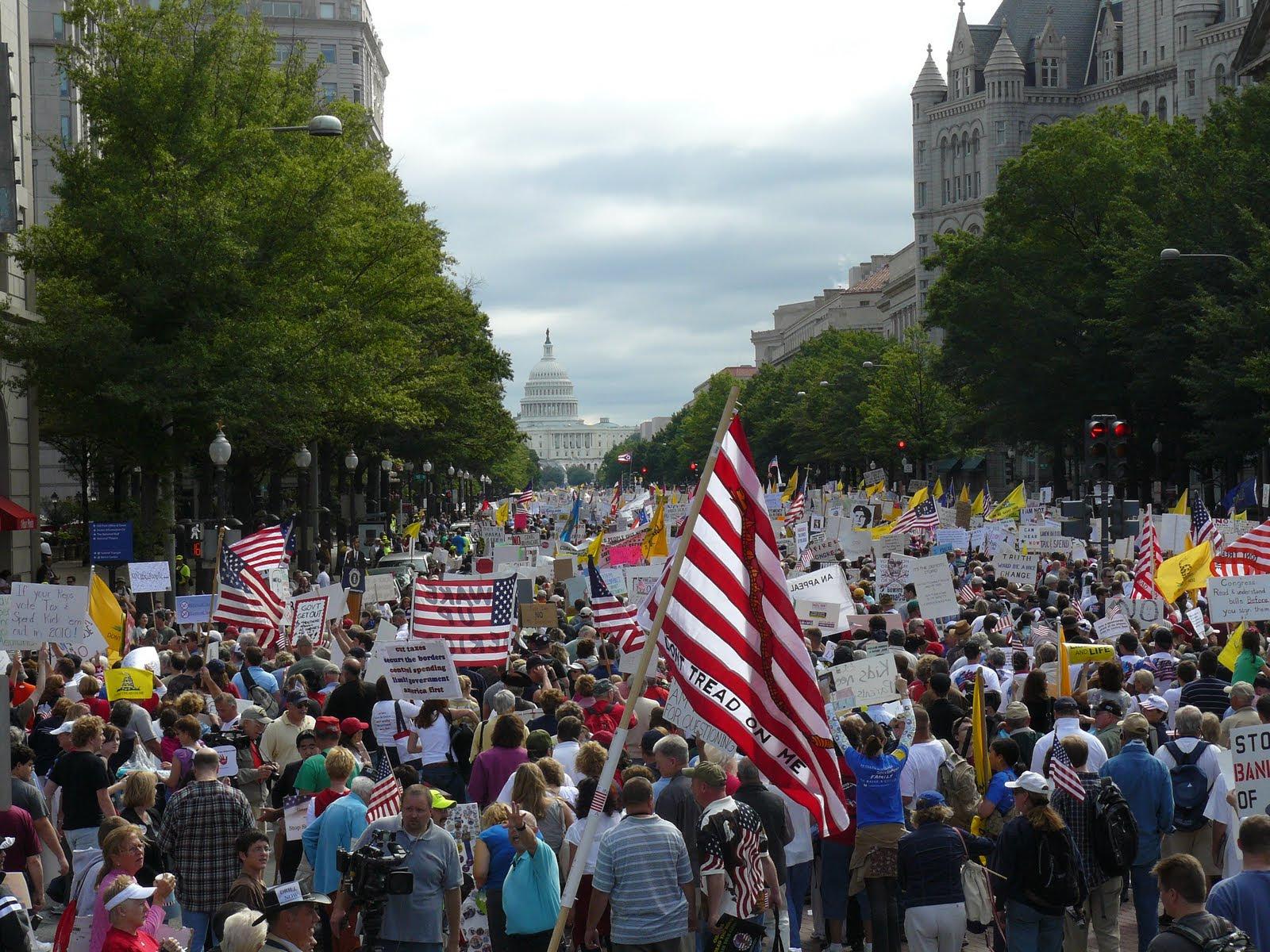 Tea Party Protest, Washington D.C. September 12, 2009