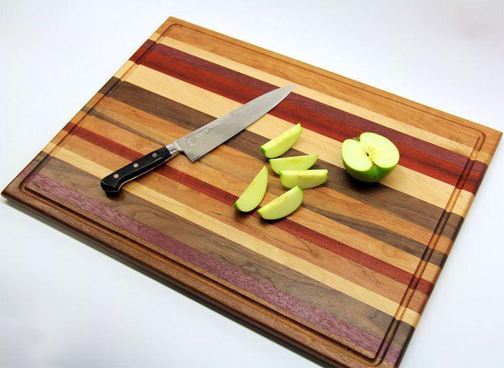 DIY Scrap Wood Cutting Board