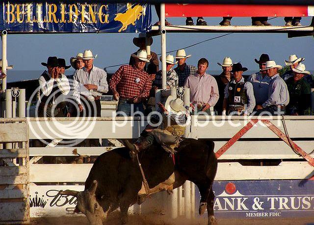 Bull Riding in Texas