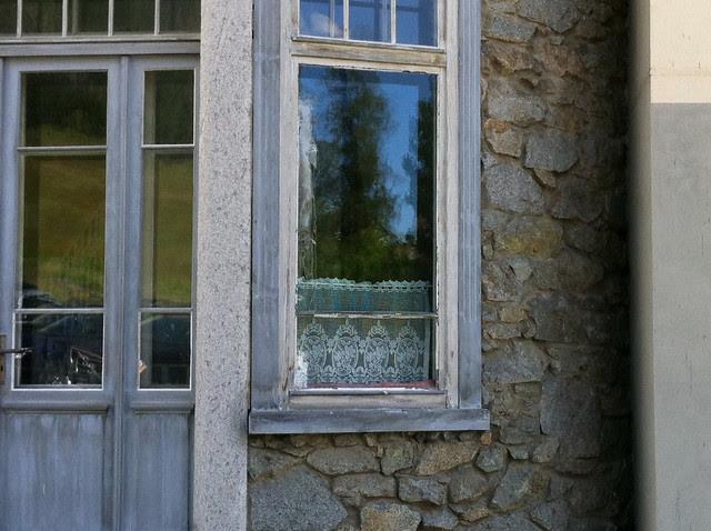 Fenster Pontresina
