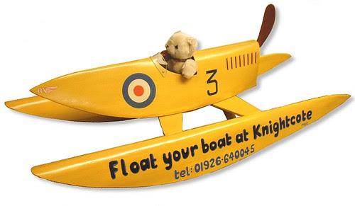 Propeller powered boat