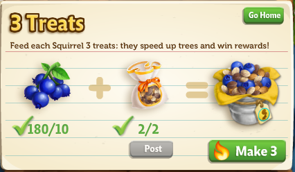 Squirrel Tree - FarmVille 2