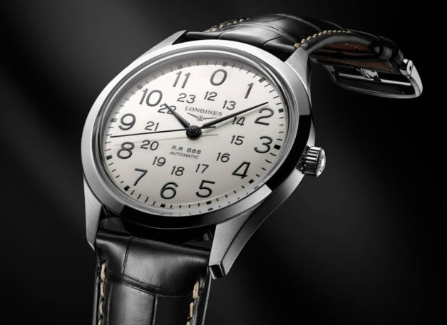 The Longines RailRoad : ceux qui m'aiment prendront le train