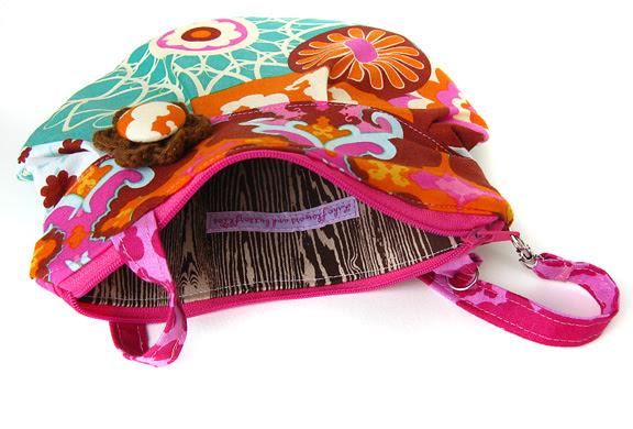 kimono bag inside
