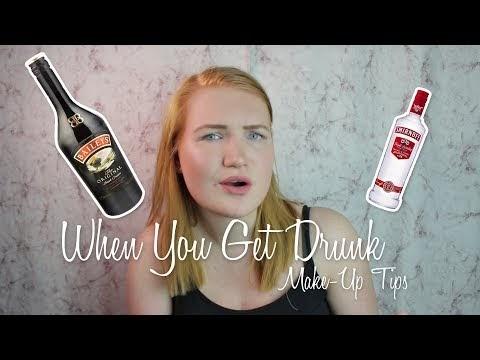 RightTessa | When You Get Drunk Make-Up Tutorial