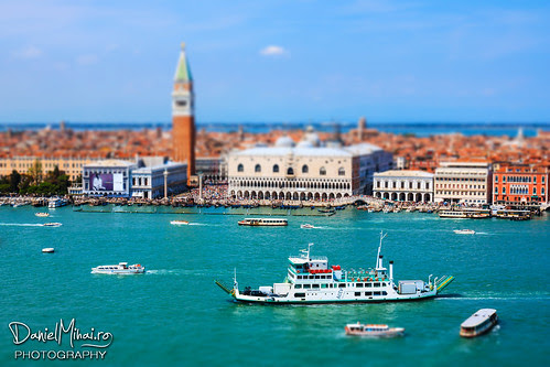 Venice from the above by Daniel Mihai