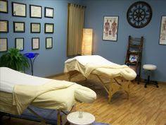 Massage Studio Design on Pinterest