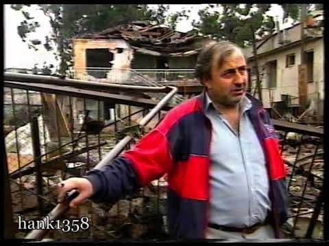 Репортаж о жизни в Сухуми где то в марте 1993 года