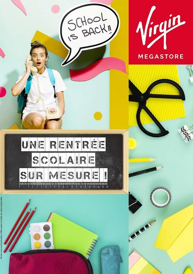 Catalogue Virgin MEGASTORE Maroc rentree scolaire sur mesure 2019
