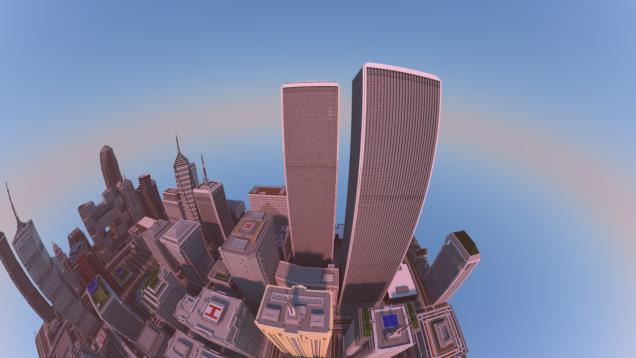 Cidade em Minecraft levou dois anos para ser construída bloco por bloco
