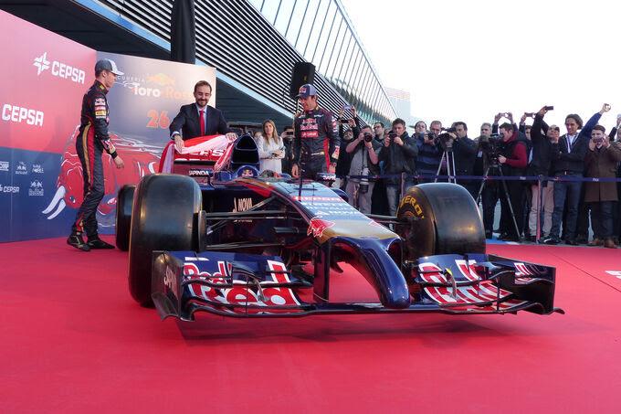 Toro Rosso - STR9 - Apresentação - Jerez - 27  Janeiro 2014