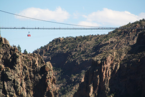 royal gorge bridge - tram