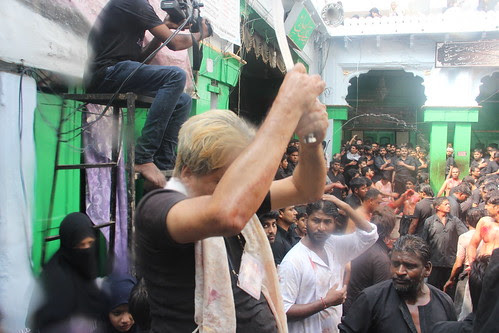 My Pushkar Dagger And My Kama Matam At Bargah Ashura 2012 by firoze shakir photographerno1