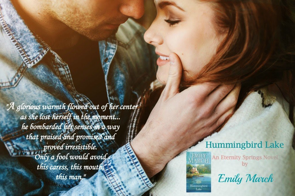 Teaser Quote from Hummingbird Lake, by author Emily March