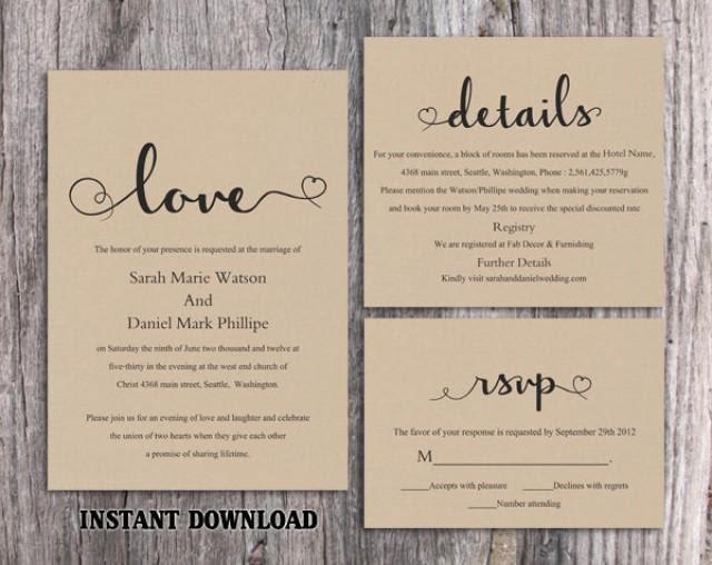 28 Rustic Wedding Invitation Design Templates Psd Ai Free Premium Templates
