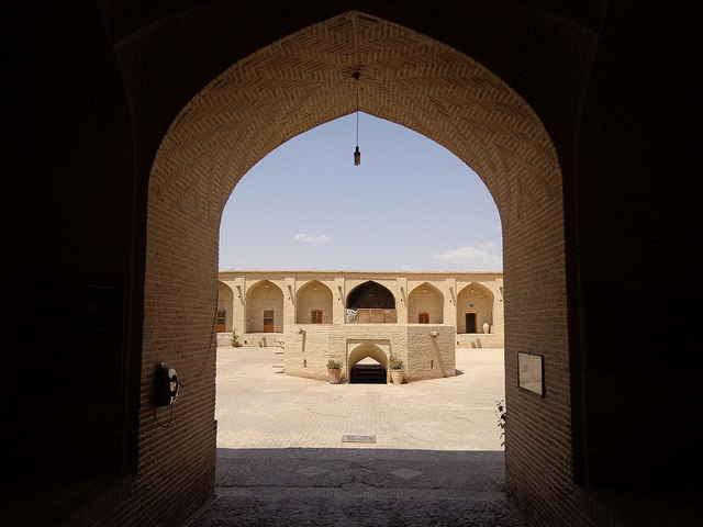 iran textile museum caravanserai