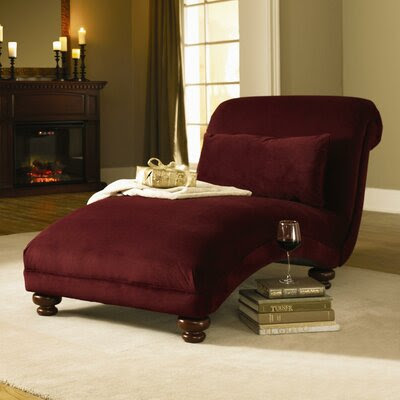 Traditional Indoor Chaise Lounges | Wayfair