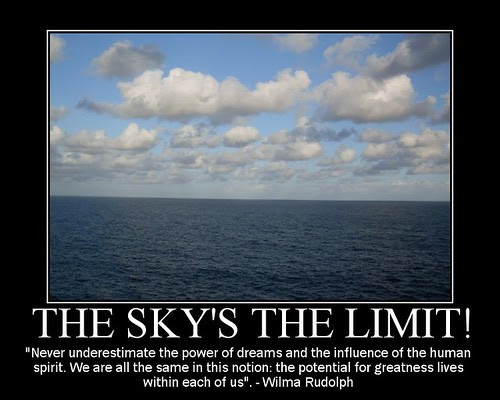Commentaries On Life The Skys The Limit