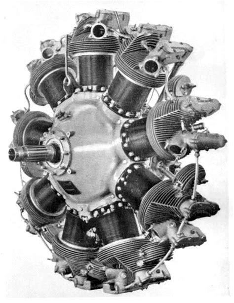 Guiberson Radial Diesel Aero Engine