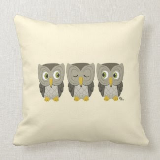 Owl Pllow Pillow