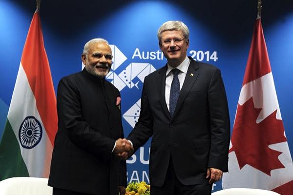 Canada and India sign historic uranium supply deal
