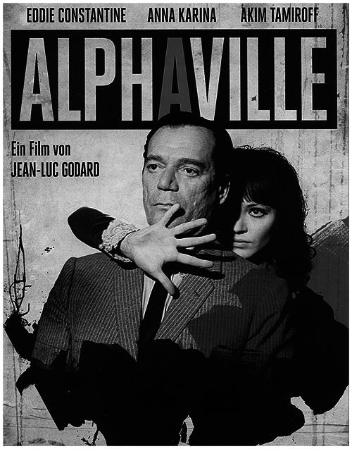 """Czytelnicy pytają #1a - Ulubione filmy czytelników - """"Alphaville"""" - nagłówek - Francuski przy kawie"""