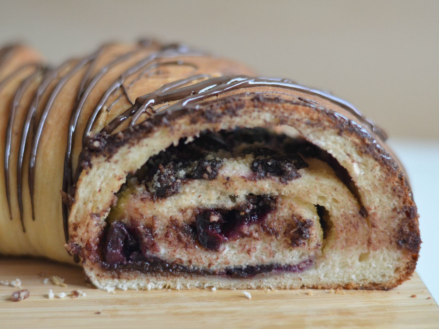 Cherry Chocolate Bread Ring