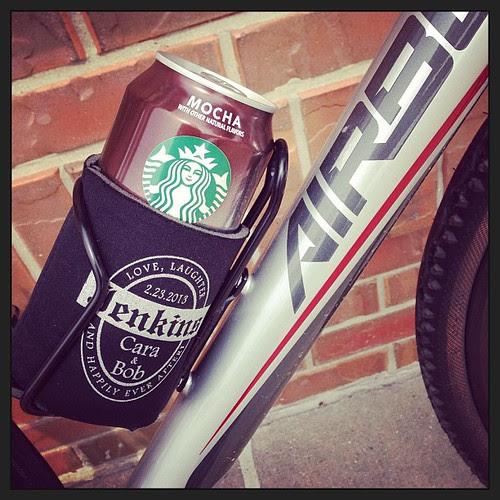 Treat on a long ride. #starbucks @Airborne_Bikes