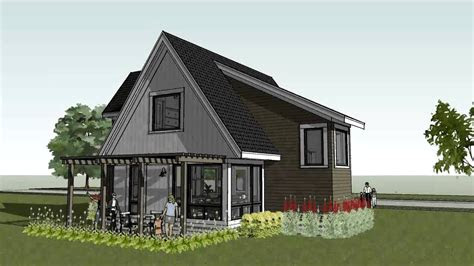small modern home design plans small modern cottage house