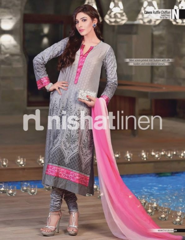 Nishat-Linen-Eid-Dress-Collection-2013-Pret-Ready-to-Wear -Lawn-Ruffle-Chiffon-for-Girls-Womens-11