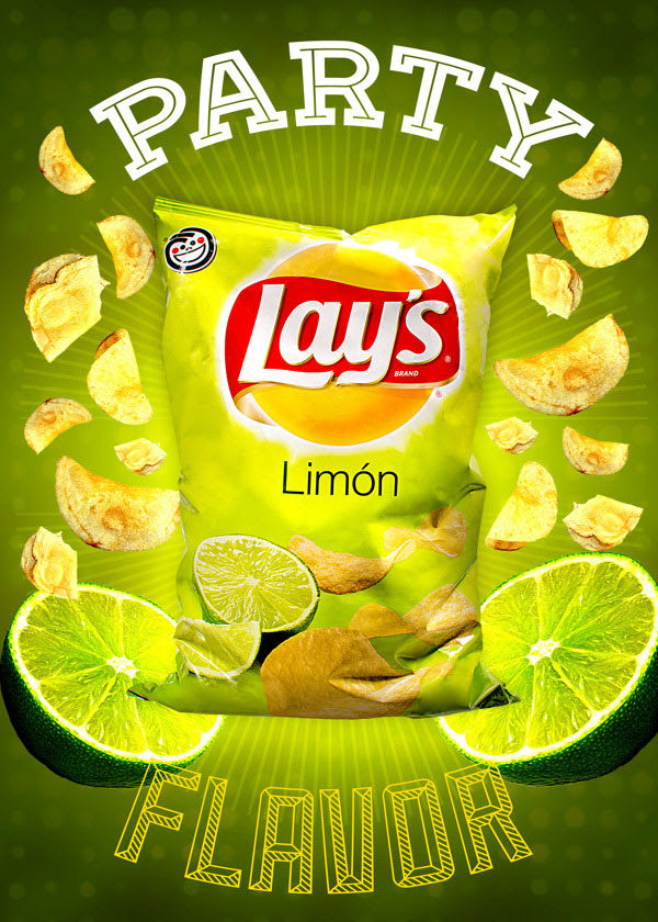 Party Lays Chips Packaging 30+ Crispy Potato Chips Packaging Design Ideas