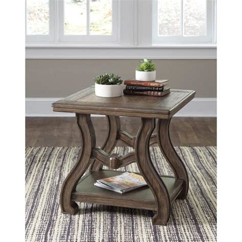 ashley furniture tanobay living room square  table