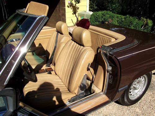 Sell used 1980 Mercedes-Benz 450SL - Chocolate Brown - an ...