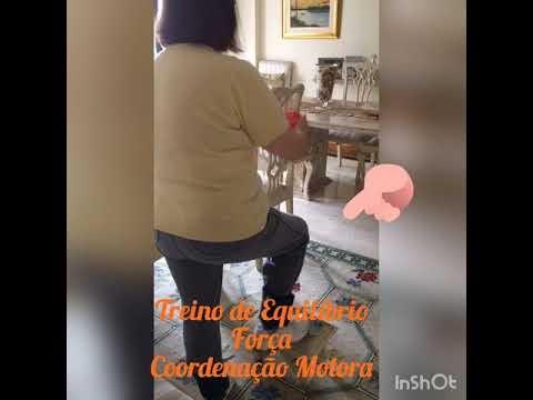 FISIOTERAPIA PARA IDOSOS - TREINO DE EQUILÍBRIO/FORÇA E COORDENAÇÃO MOTORA