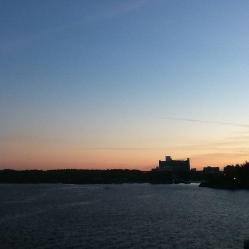 Ramsey Lake was gorgeous tonight. #sunset #nofilter #northernontario #ramseylake