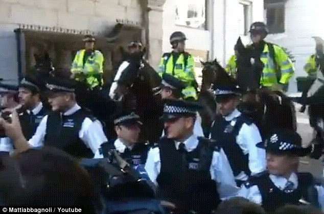 Protesters inspired by the growing 'Occupy Wall Street' movement in the U.S are today demonstrating in the City of London