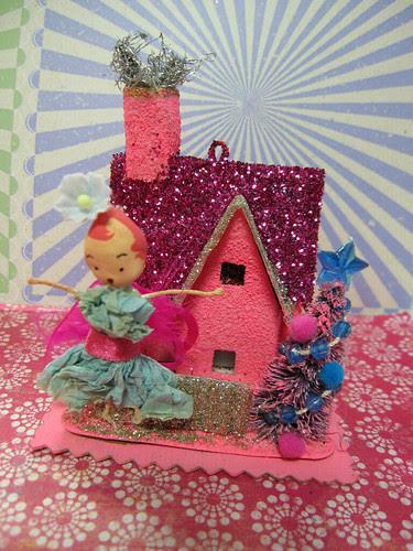 Sugar Pink Fairy House! 7