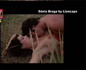 Sónia Braga nua no filme brasileiro de 1978 A Dama da Lotação - 3º video de 4