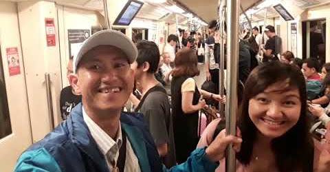 Du lịch Phượt Thái Lan - Lần đầu đi xe điện dưới lòng đất
