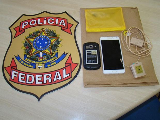 PF prende candidato por fraude no Enem em Natal  (Foto: Divulgação/PF)
