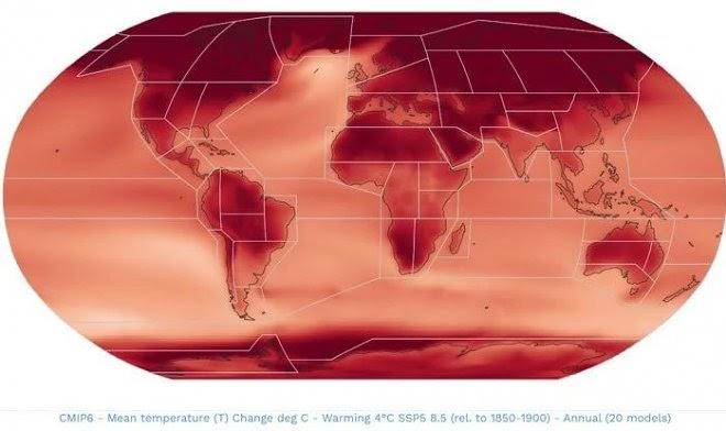 Интерактивный атлас покажет процесс изменения климата планеты в мельчайших деталях