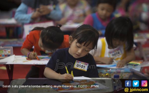 Berlomba Warnai Ikon Nusantara Daerah Jpnncom