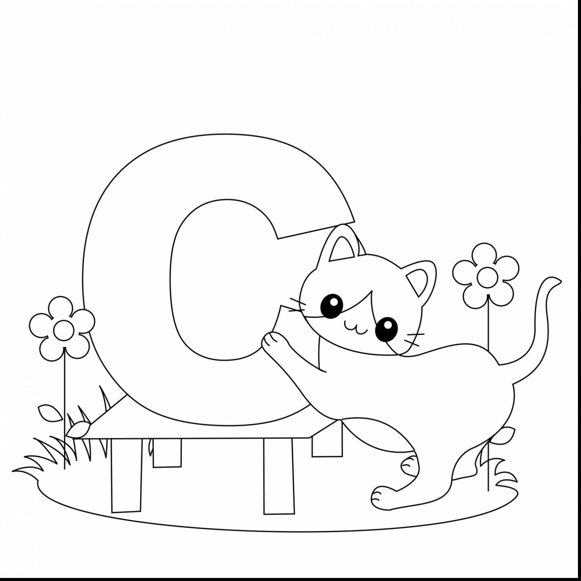 85 Top Pre K Coloring Pages Alphabet For Free