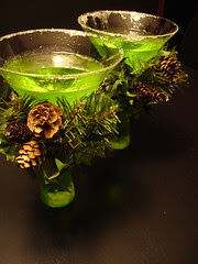 Yummy Green Apple Martini Memories