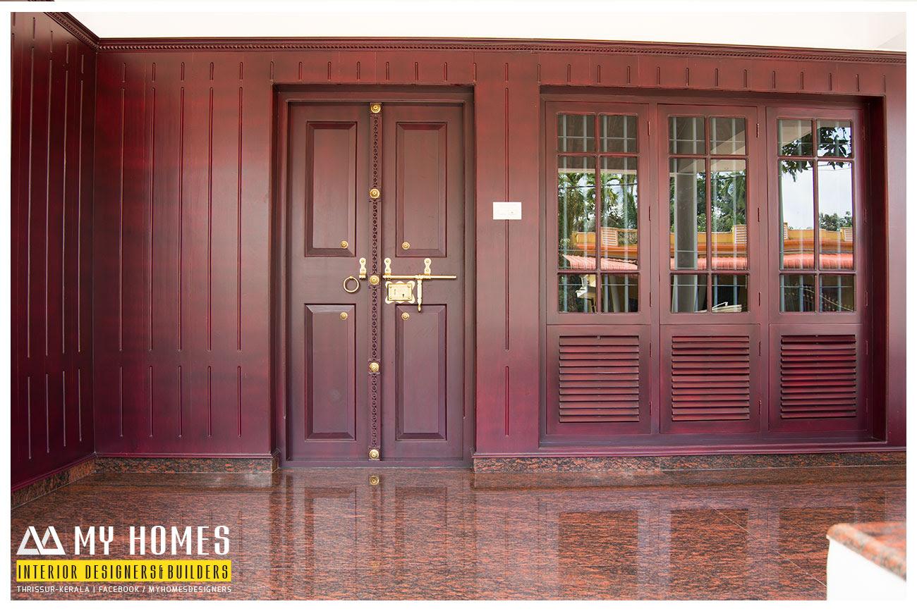 front double door designs kerala houses  | 566 x 1015